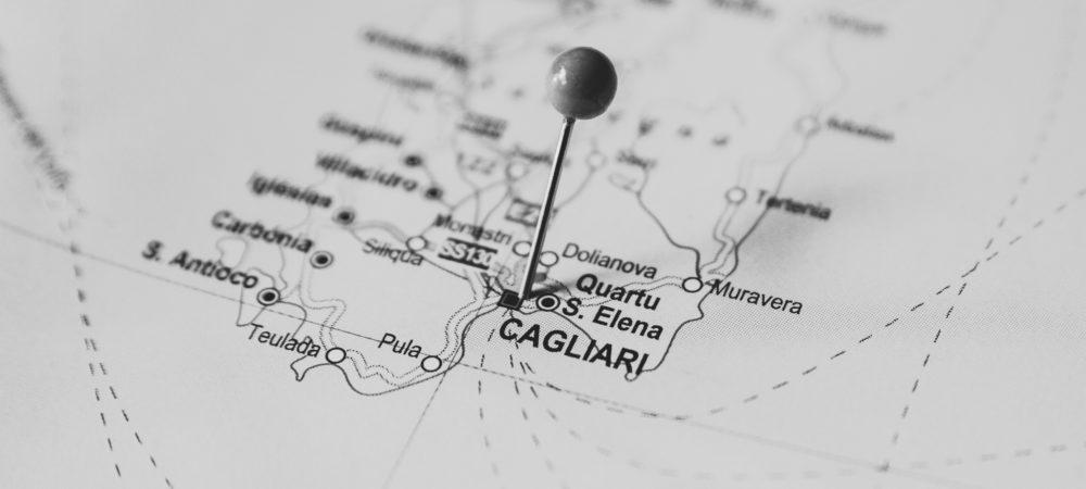 Cartina Sud Sardegna